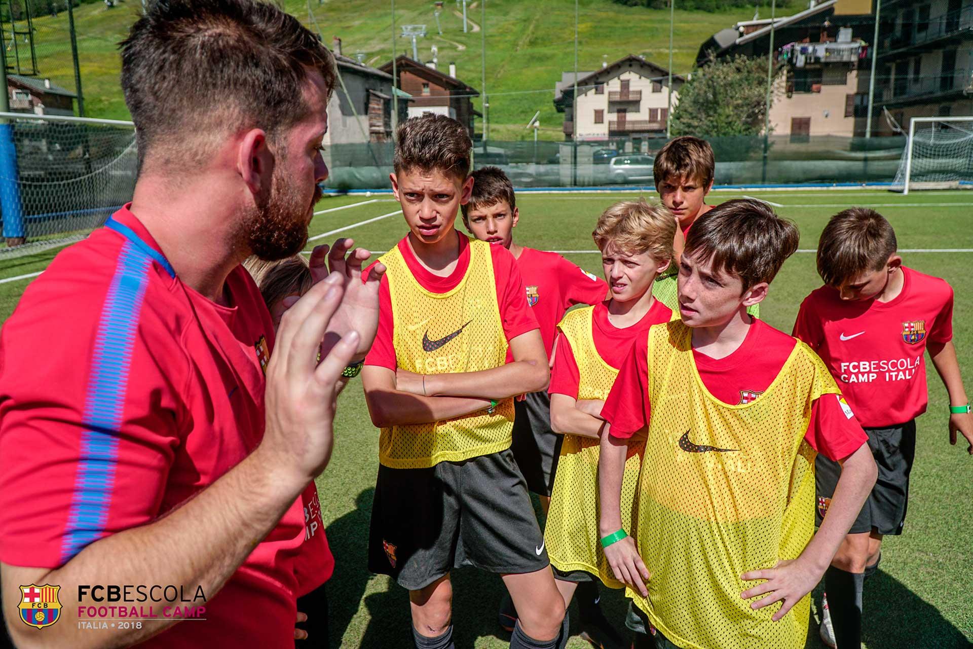 FCB Camp Italia